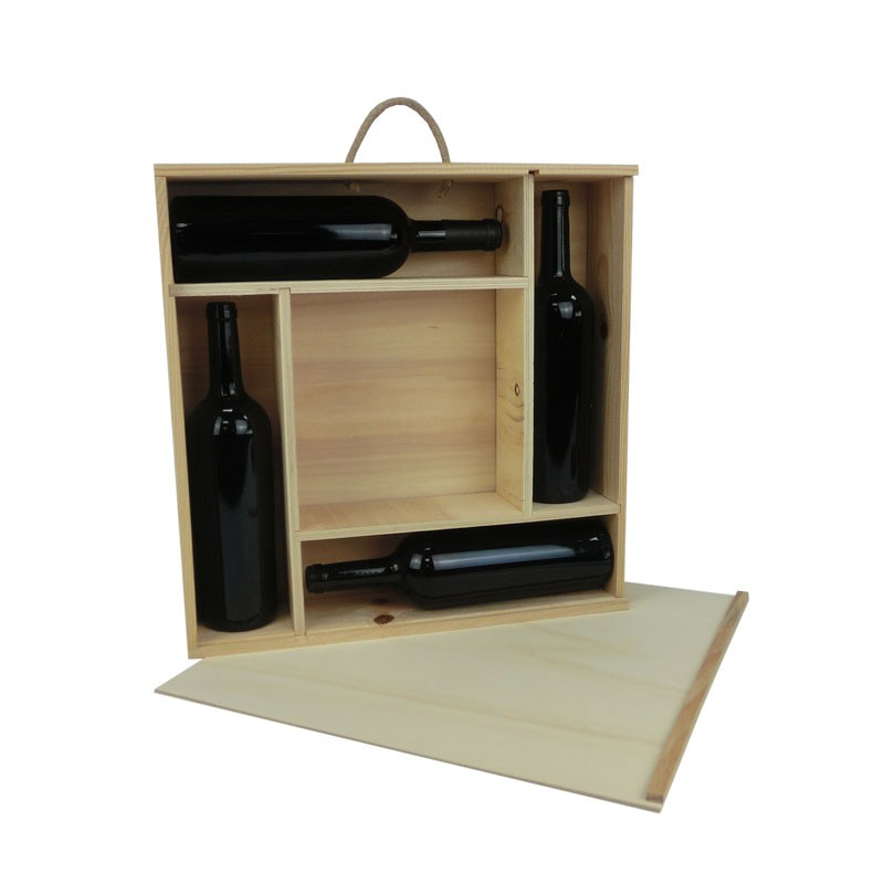 Decorar cajas de vino de madera ideas de decoracion con for Comprar encimera de madera