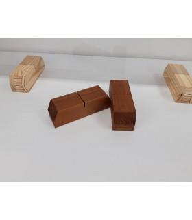 Comprar Caja de madera para 4 botellas