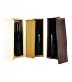 Caja de madera para una botella de vino