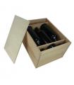 Cajón de vino con tapa de clavar