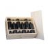 Cajón de vino para 12 botellas con tapa de clavar