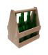 Cesta de madera para cerveza