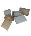 Caja de madera para fotografías con espacio para memoria USB