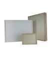 Estuche de madera rectangular para fotos o álbum