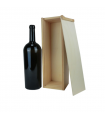 Caja de madera para botella Magnum