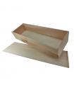 Caja de madera para un jamón