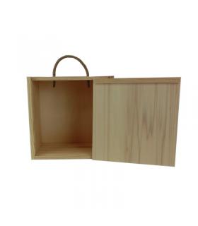 Caja de madera para 1 queso