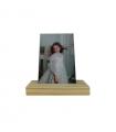 Soporte de madera para fotografías - 15cm