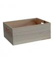 Cajón de madera para almacenamiento