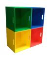 Cajón de madera multiuso