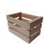 Caja de madera de fruta para la decoración
