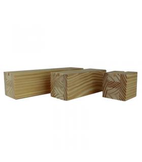 Jardineras de madera tratada con autoclave iv estuches - Maceteros exterior baratos ...