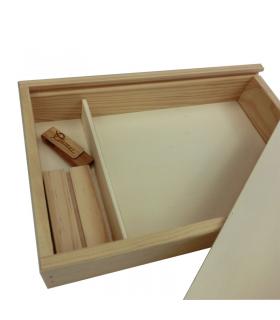 Comprar Caja de madera tapa con cierres rústicos para 6 botellas mixtas