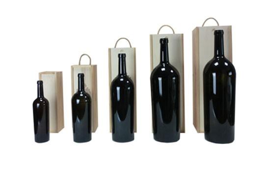 Estuches de madera a medida para cada botella